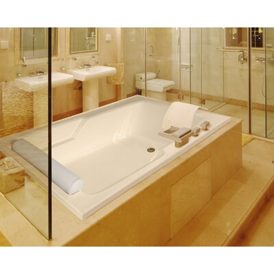 """Hydro Systems Designer Duo 66"""" x 42"""" Whirlpool Bathtub with Combo System"""