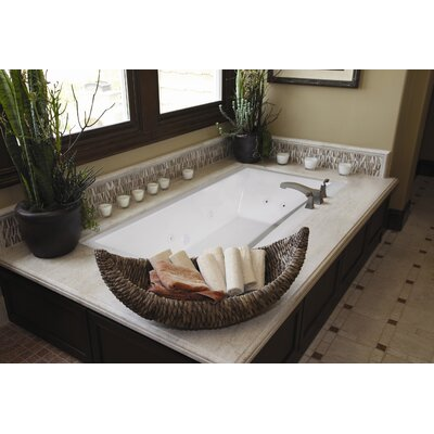 "Hydro Systems Designer Eileen 74"" x 38"" Air/Whirlpool Bathtub with Thermal System"
