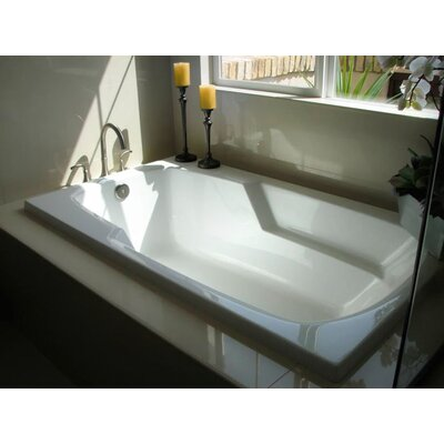 """Builder 60"""" x 32"""" Air/Whirlpool Bathtub with Thermal System Product Photo"""