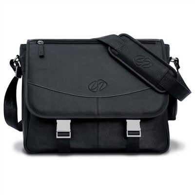 Premium Leather Messenger Bag by MacCase
