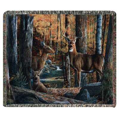 Manual Woodworkers & Weavers Broken Silence II Tapestry Cotton Throw