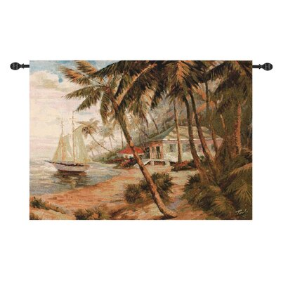 Manual Woodworkers & Weavers Key West Hideaway Tapestry
