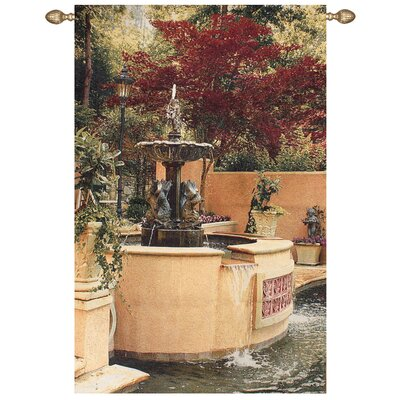 Manual Woodworkers & Weavers Tranquil Fountain Tapestry