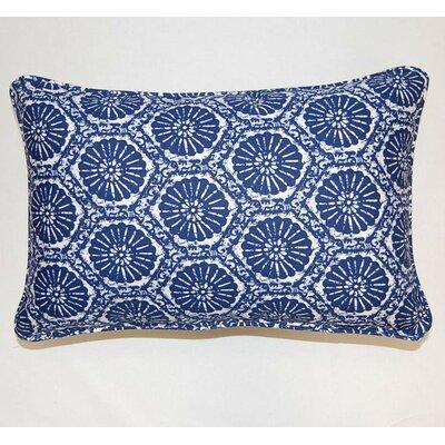 Seabreeze Corded Cotton Lumbar Pillow by Dakotah Pillow
