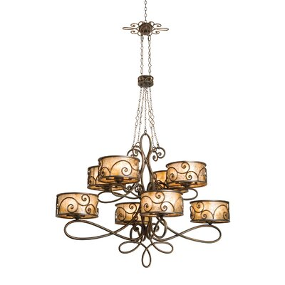 Windsor 40 Light Chandelier by Kalco