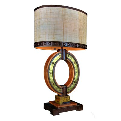 "Kalco Aspen 32"" H Table Lamp with Oval Shade"