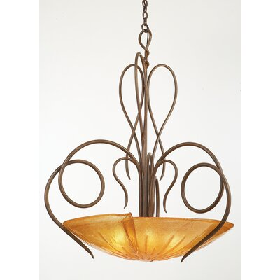 Kalco Tribecca 6 Light Inverted Pendant