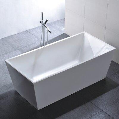 "67"" x 31.5"" Soaking Bathtub Product Photo"