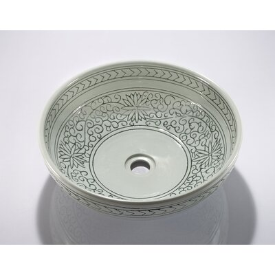 Porcelain Sink Bowl Product Photo