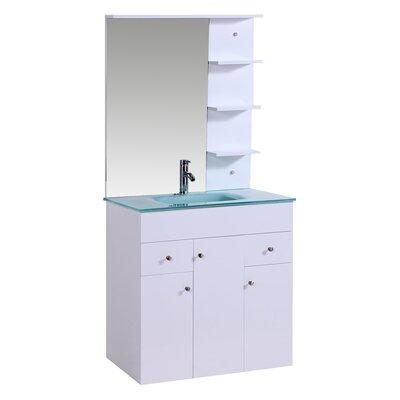 """Legion Furniture 32"""" Single Bathroom Vanity Setwith Mirror"""
