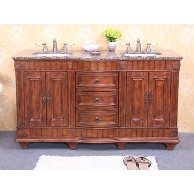 Legion Furniture 60 Quot Double Sink Vanity Base Amp Reviews