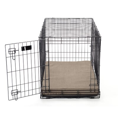 Luxury Memory Foam Dog Crate Pad with Suede Microfiber Cover by Buddy Beds