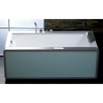 "71"" x 36"" Modern Whirlpool Bathtub Product Photo"