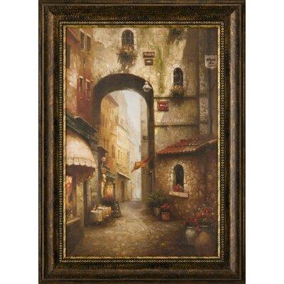 Ashton Wall Décor LLC The Grand Archway Framed Painting Print