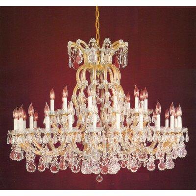Crystorama Maria Theresa 36 Light Chandelier