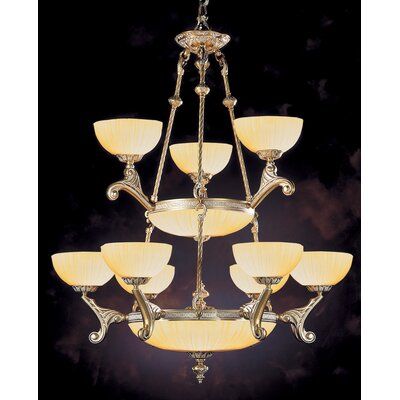 Hot Deal 9 Light Chandelier by Crystorama