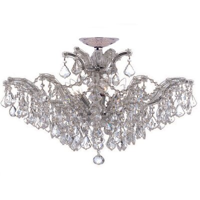 Maria Theresa 6 Light Chandelier by Crystorama