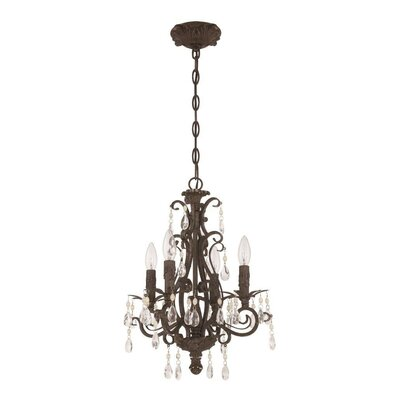 Englewood 4 Light Mini Chandelier Product Photo