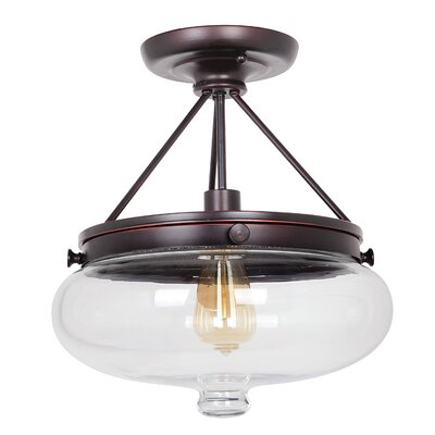 Yorktown 1 Light Semi Flush Mount Product Photo