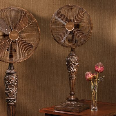 "Deco Breeze Cantalonia 12"" Oscillating Table Fan"