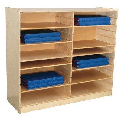 Wood Designs Mat Storage Center