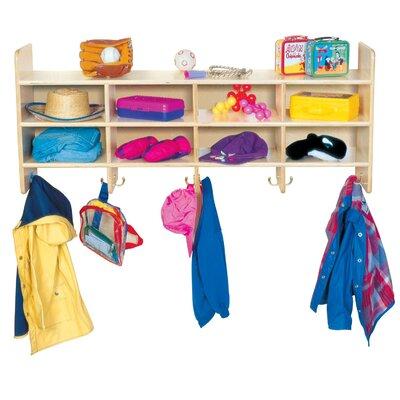 Wood Designs 8-Section Wall Locker
