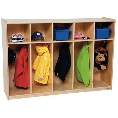 Wood Designs 5-Section Tot Locker