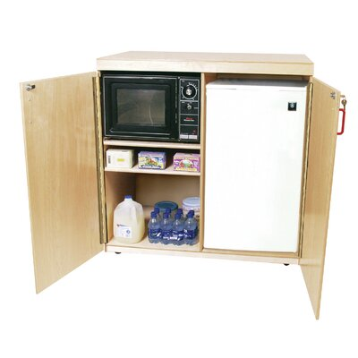 Wood Designs Mobile Food Utility Cart