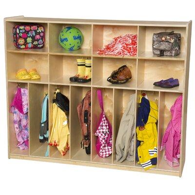 Wood Designs 8-Section Neat-N-Trim Locker WD50848 WD50860