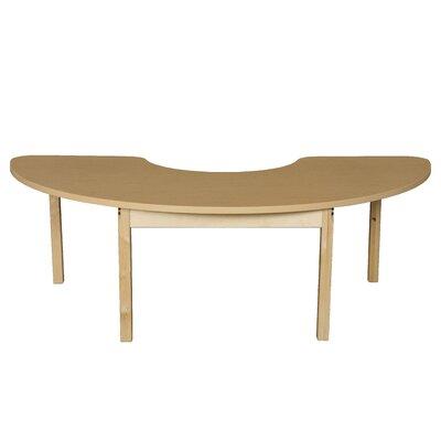 Wood Designs Half Circle High Pressure Laminate Table