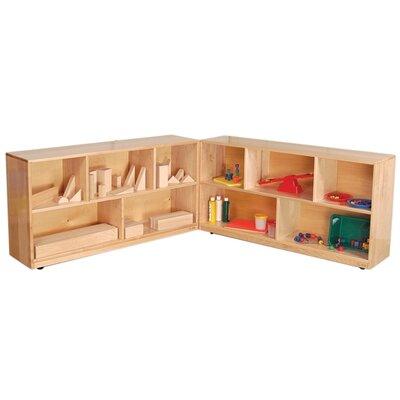 Wood Designs Maple Folding Storage Unit