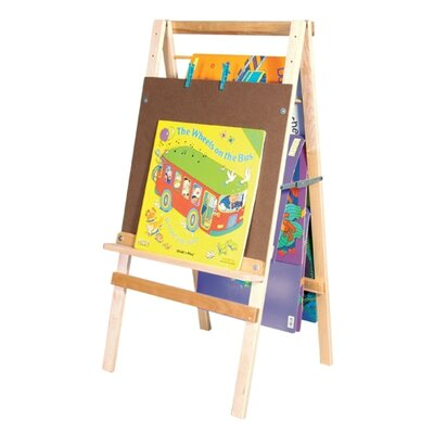 Wood Designs Big Book Easel and Hanging Storage
