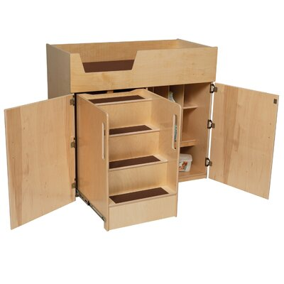 Wood Designs Natural Environment Deluxe Infant Care Center