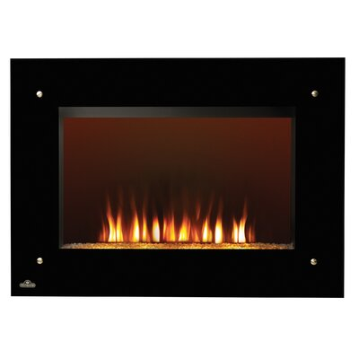 Napoleon wall mount electric fireplace reviews wayfair for 24 wall mount electric fireplace