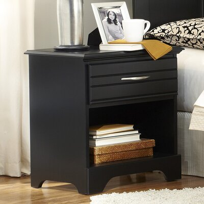 Platinum 1 Drawer Nightstand by Carolina Furniture Works, Inc.