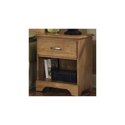 Sterling 1 Drawer Nightstand by Carolina Furniture Works, Inc.