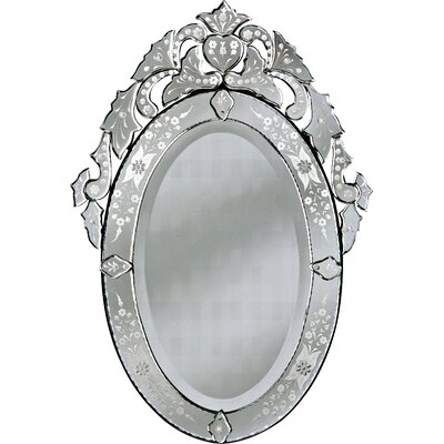 Olympia Large Wall Mirror by Venetian Gems