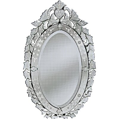 Angela Small Venetian Wall Mirror by Venetian Gems