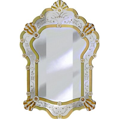 Bettina Venetian Wall Mirror by Venetian Gems