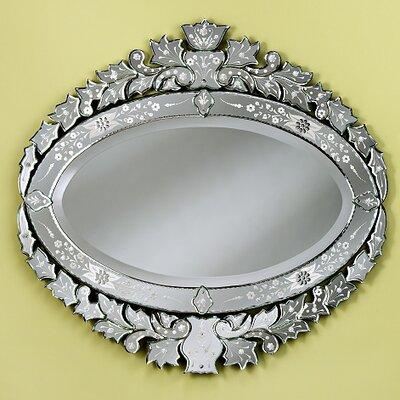 Lucila Medium Wall Mirror by Venetian Gems