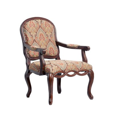 Harvard Carved Arm Chair by Comfort Pointe