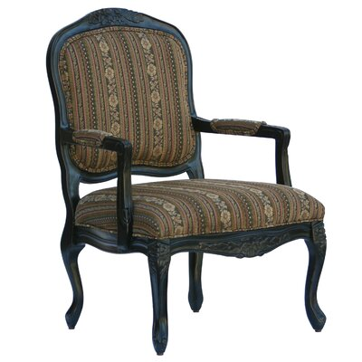 Essex Chenille Arm Chair by Comfort Pointe