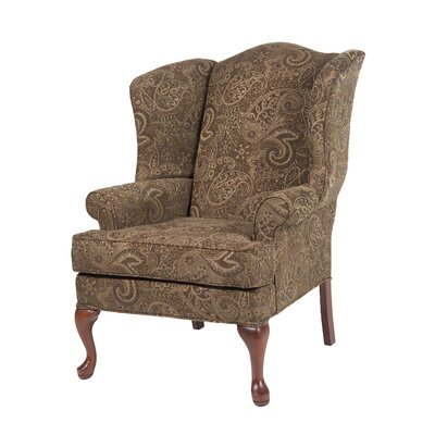 Paisley Wing Back Chair by Comfort Pointe