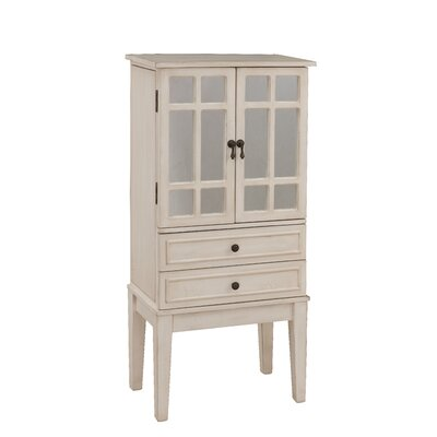 Jewelry Armoire with Mirror by Coast to Coast Imports