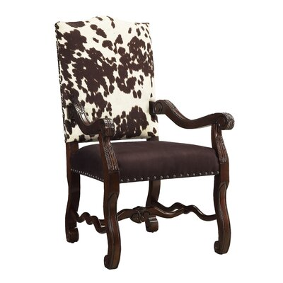 Accent Chair with Byron Espresso Finish by Coast to Coast Imports