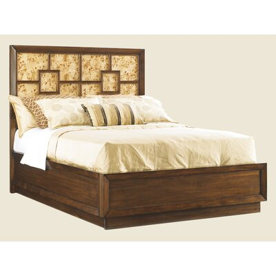Mirage harlow panel bed wayfair for Harlowe bed