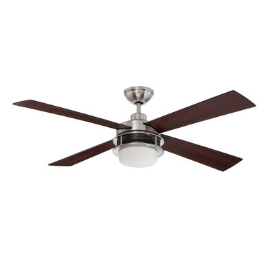 "52"" Urban Breeze 4 Blade Ceiling Fan with Wall Remote Product Photo"