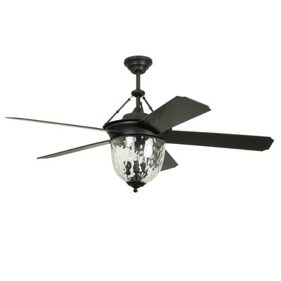 "52"" Cavalier 5 Blade Ceiling Fan with Wall Remote Product Photo"