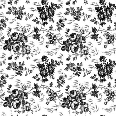Kittrich Toile Black Magic Cover Liner