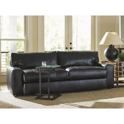 Island Fusion Sakura Leather Convertible Sofa by Tommy Bahama Home